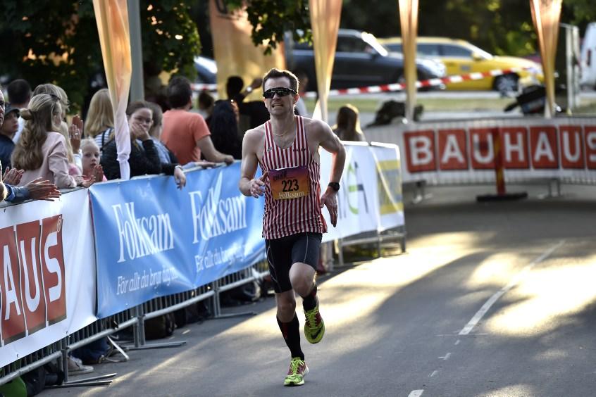 1,  Erik Framme , Hälle IF, 34:17. Foto: Deca Text & Bild